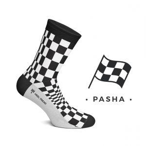 Pacha Chaussettes noir/blanc