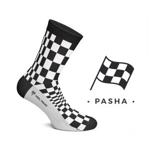 Pasha Socks black/white