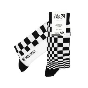 Pascha Socken schwarz/weiß