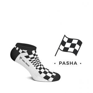 Pasha Calcetines Bajos negro/blanco
