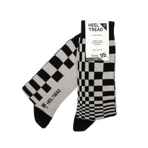 Pasha Socks black/grey