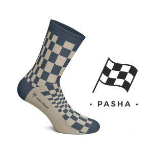 Pascha Socken blau/braun