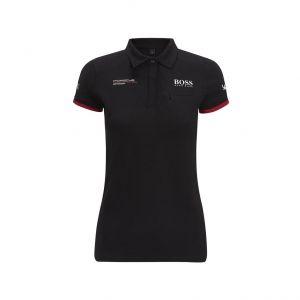 Porsche Motorsport Poloshirt Damas negro