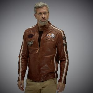 Gulf Racing Jacket dark cognac