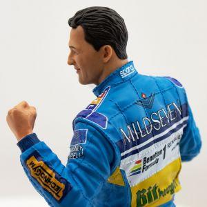 Michael Schumacher Figur Zweite F1 Weltmeisterschaft 1995 1:10
