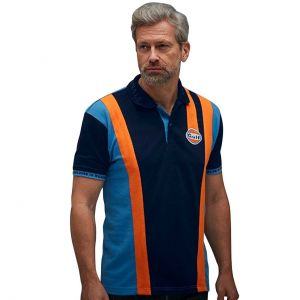 Gulf Racing Team Poloshirt navy blue