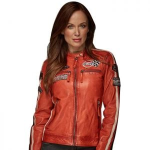 Gulf Jacke Lady Racing orange