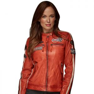 Gulf Veste Femme Racing orange