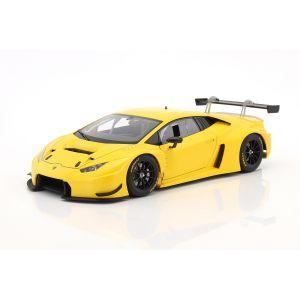Lamborghini Huracan GT3 Année 2015 jaune 1/18