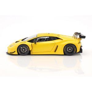 Lamborghini Huracan GT3 Año 2015 amarillo 1/18
