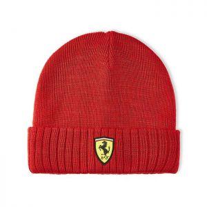 Scuderia Ferrari Gorro de punto rojo