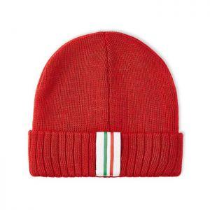 Scuderia Ferrari Bonnet tricoté rouge