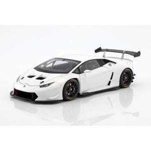Lamborghini Huracan LP620-2 Super Trofeo Année de fabrication 2016 blanc 1/18