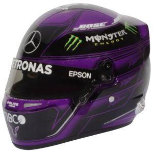 Lewis Hamilton casco in miniatura Stiria GP 2020 1/2