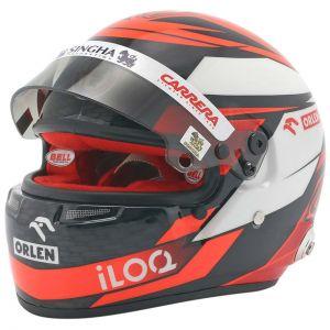 Kimi Räikkönen casco en miniatura 2020 1/2