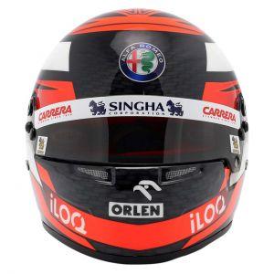 Kimi Räikkönen casco in miniatura 2020 1/2
