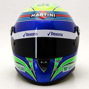 Casco miniatura Felipe Massa 2016 1/2