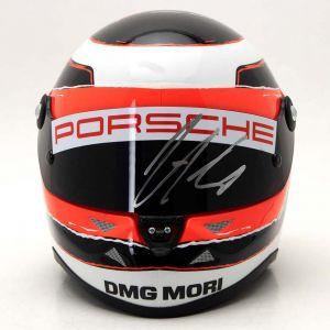 Casque miniature Nico Hülkenberg Le Mans 2015 signé 1/2