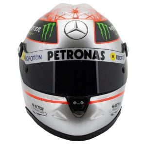 Michael Schumacher Platinum Helmet Spa 300 GP 2012 1/2