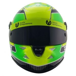 Mick Schumacher Miniature Helmet Belgium Spa 2018 Formula 3 Champion 1/2
