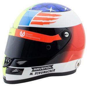 Mick Schumacher miniature helmet Belgium Spa 2017 1/2