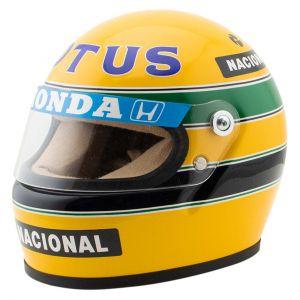 Casco Ayrton Senna 1987 Scala 1:2