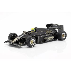 Ayrton Senna Lotus 97T #12 Gewinner Portugal GP Formel 1 1985 1:18