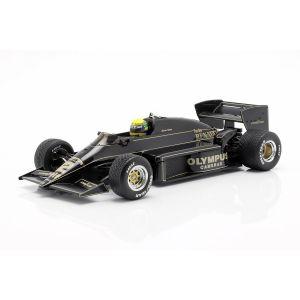 Ayrton Senna Lotus 97T #12 vincitore del GP del Portogallo GP di Formula 1 1985 1/18