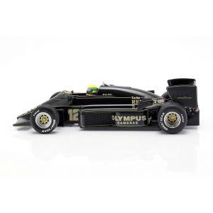 Ayrton Senna Lotus 97T #12 Vainqueur du GP du Portugal Formule 1 1985 1/18