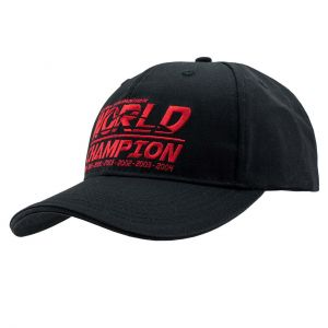 Gorra Negra Michael Schumacher Campeón Mundial