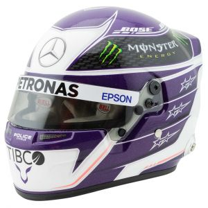 Lewis Hamilton Casco en miniatura 2020 1/2