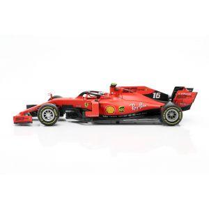 Charles Leclerc Ferrari SF90 #16 Vincitore Italia GP F1 2019 1/18