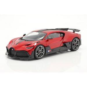 Bugatti Divo Año de construcción 2018 rojo / negro 1/18