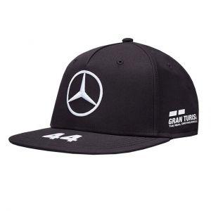 Mercedes-AMG Petronas Pilota Driver Cap Hamilton visiera piatta nero