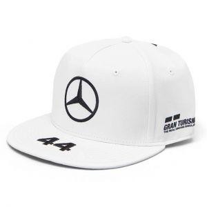 Mercedes AMG Petronas Motorsport Lewis Hamilton 2019 F1™ Cap Flat Brim weiß