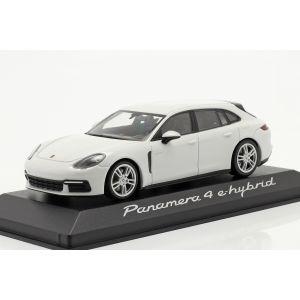 Porsche Panamera 4 E-Hybrid white 1/43