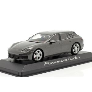 Porsche Panamera Turbo gris metálico 1/43