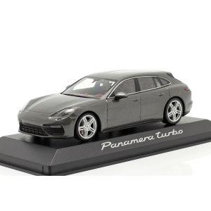 Porsche Panamera Turbo gris métallique 1/43