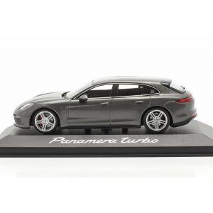 Porsche Panamera Turbo grey metallic 1/43
