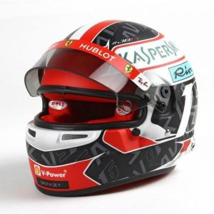 Charles Leclerc casco en miniatura 2019 1/2