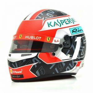 Charles Leclerc miniature helmet 2019 1/2