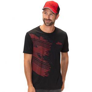 Camiseta Speedline negra Michael Schumacher