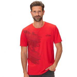 Camiseta roja de deporte Speedline Michael Schumacher