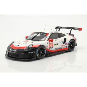 Porsche 911 (991) RSR #912 24h Daytona 2018 Bamber, Bruni, Vanthoor 1/18