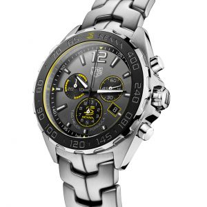 Ayrton Senna Quartz Chronograph Stainless Steel Grey