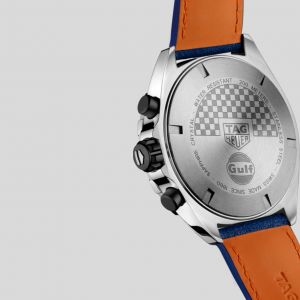 Gulf Quartz Chronograph Stainless Steel / Leather