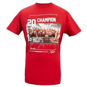 Mick Schumacher T-Shirt F2 Champion du monde 2020