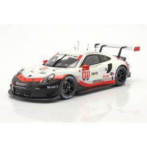 Porsche 911 (991) RSR #911 24h Daytona 2018 Pilet, Makowiecki, Tandy 1/18