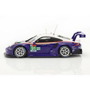 Porsche 911 RSR #91 2e de la classe LMGTE Pro 24h Le Mans 2018 1/18
