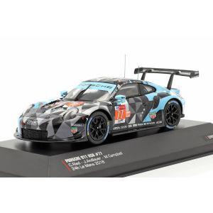 Porsche 911 (991) RSR #77 Sieger LMGTE Am 24h LeMans 2018 1:43